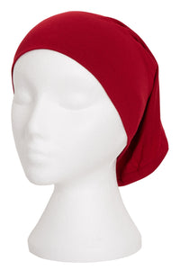 RED TUBE BONNET