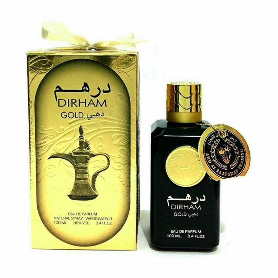 AL ZAAFARAN DIRHAM GOLD 100ML
