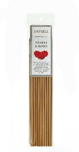Saysell Incense Sticks Hearts & Roses