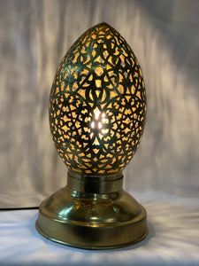 MOROCCAN FLAME TABLE LAMP - MEDIUM