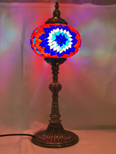 MOSAIC TALL TABLE LAMP