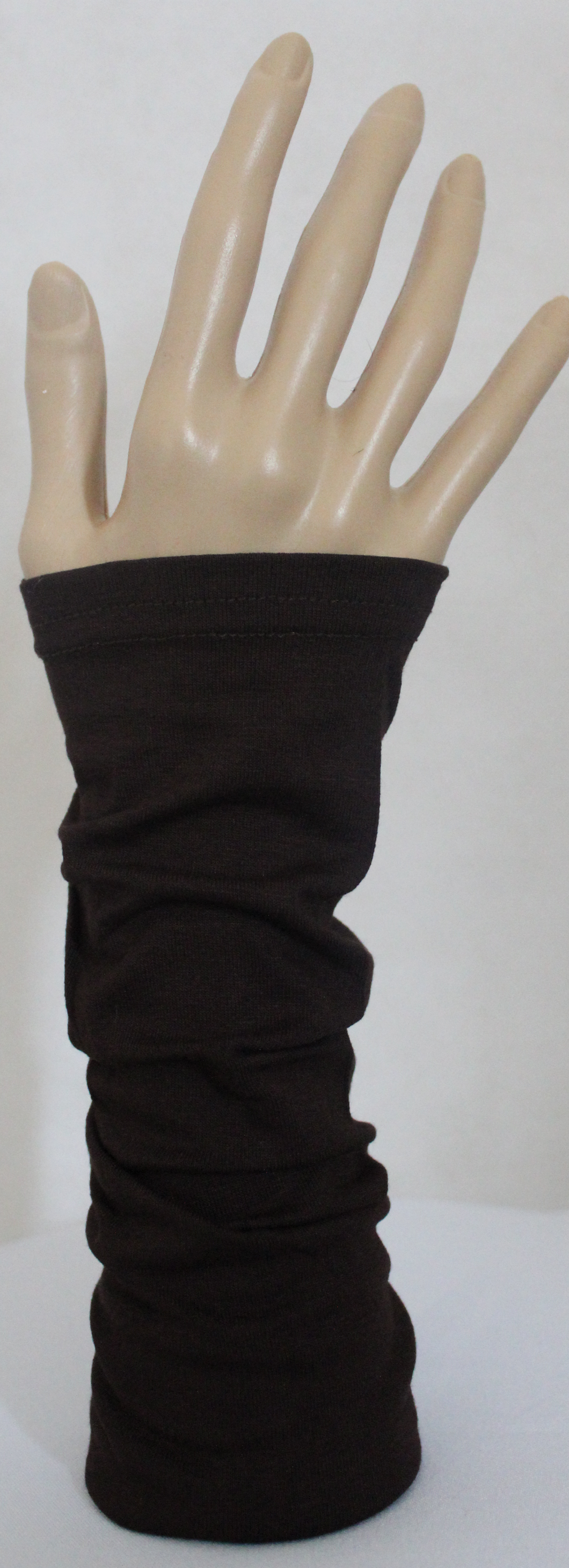 CHOCOLATE BROWN PLAIN SLEEVE