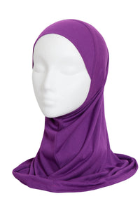 VIOLET GIRLS HIJAB