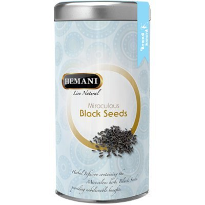HEMANI BLACK SEEDS TEA TIN 100G