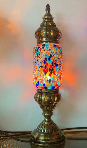 MOSAIC LANTERN TABLE LAMP
