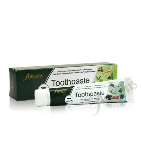 AMSONS CHARCOAL MIX TOOTHPASTE