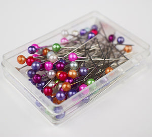 MULTI COLOUR BOXED PINS MEDIUM