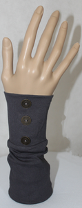 CHARCOAL BUTTON SLEEVE