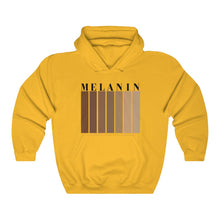 Load image into Gallery viewer, Melanin Unisex Hooded Sweatshirt