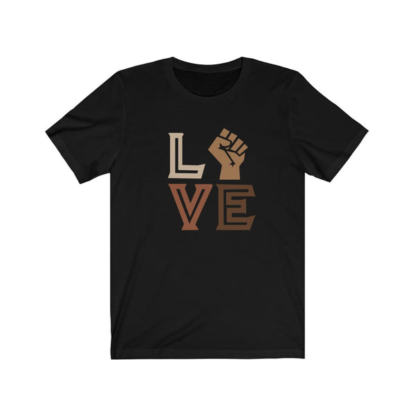 Black Love Unisex Short Sleeve Tee
