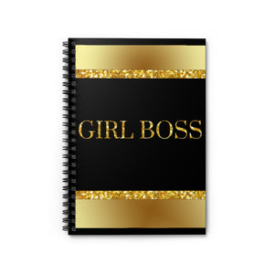 Girl Boss Spiral Notebook - Ruled Line