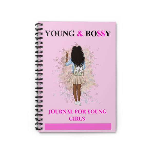 Young & Bossy Spiral Notebook - Ruled Line