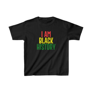 I AM BLACK HISTORY Kids Cotton™ Tee