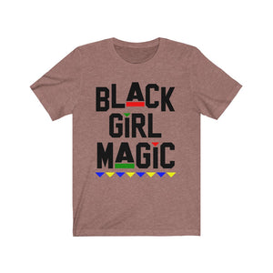 Black Girl Magic Unisex Short Sleeve Tee
