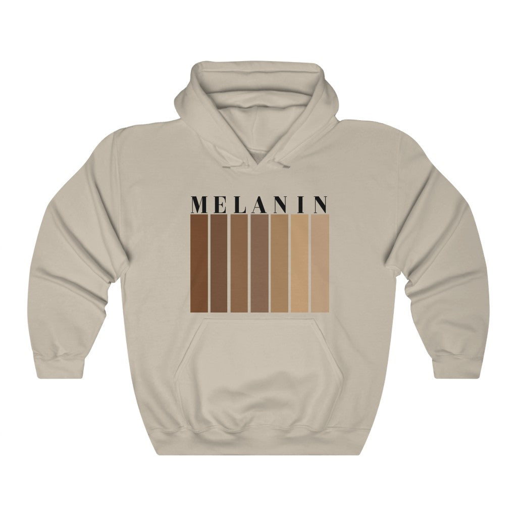 Melanin Unisex Hooded Sweatshirt