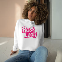 Load image into Gallery viewer, Boss Lady Crop Hoodie
