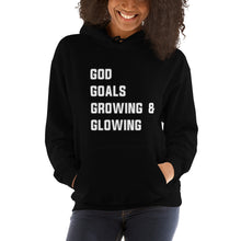 Load image into Gallery viewer, Growing & Glowing Unisex Hoodie