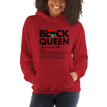 Load image into Gallery viewer, Black Queen Unisex Hoodie