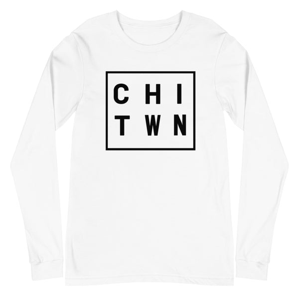 CHI TWN Unisex Long Sleeve Tee