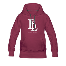 Load image into Gallery viewer, Boss Lady Women's Premium Hoodie - burgundy