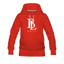 Load image into Gallery viewer, Boss Lady Women's Premium Hoodie - red