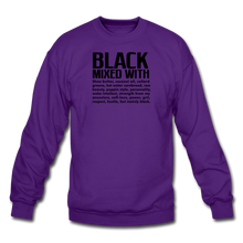 Load image into Gallery viewer, Crewneck Sweatshirt - purple