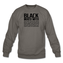 Load image into Gallery viewer, Crewneck Sweatshirt - asphalt gray