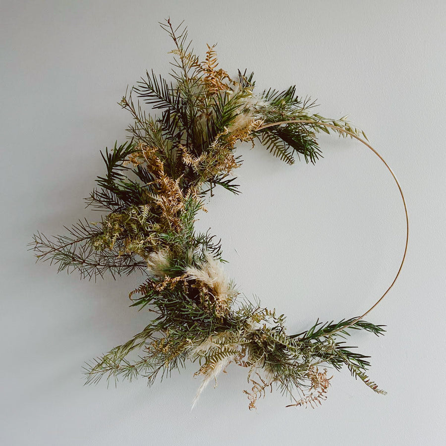 Dried Botanical Wreath Workshop with Graen Studios and Aiteall Flowers