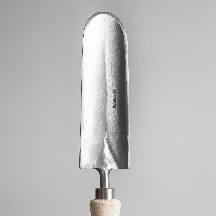 Stainless Steel Great Dixter Christopher Lloyd Trowel with Ash Wood Handle