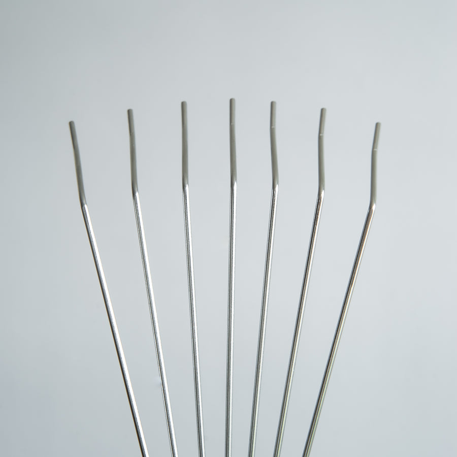 Stainless Steel Small Hand Leaf Rake with Ash Wood Handle
