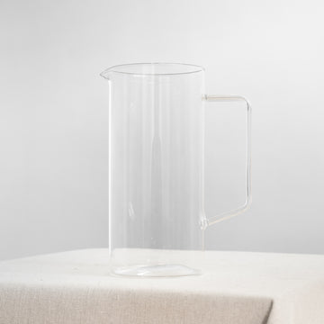Medium Glass Pitcher Watering Jug