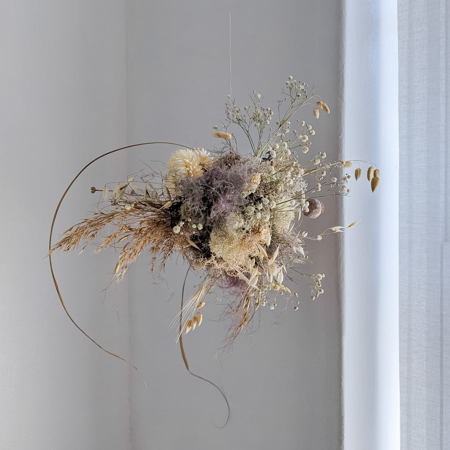 Dried Botanical Cloud Workshop with Graen Studios