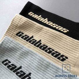 Calabasas Fashion Premium Cotton Socks Socks