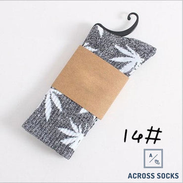 Maple Leaf Premium Cotton Socks Oreo/white / One Size Socks