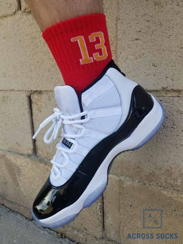 The Beard #13 Super Elite Basketball Socks Socks