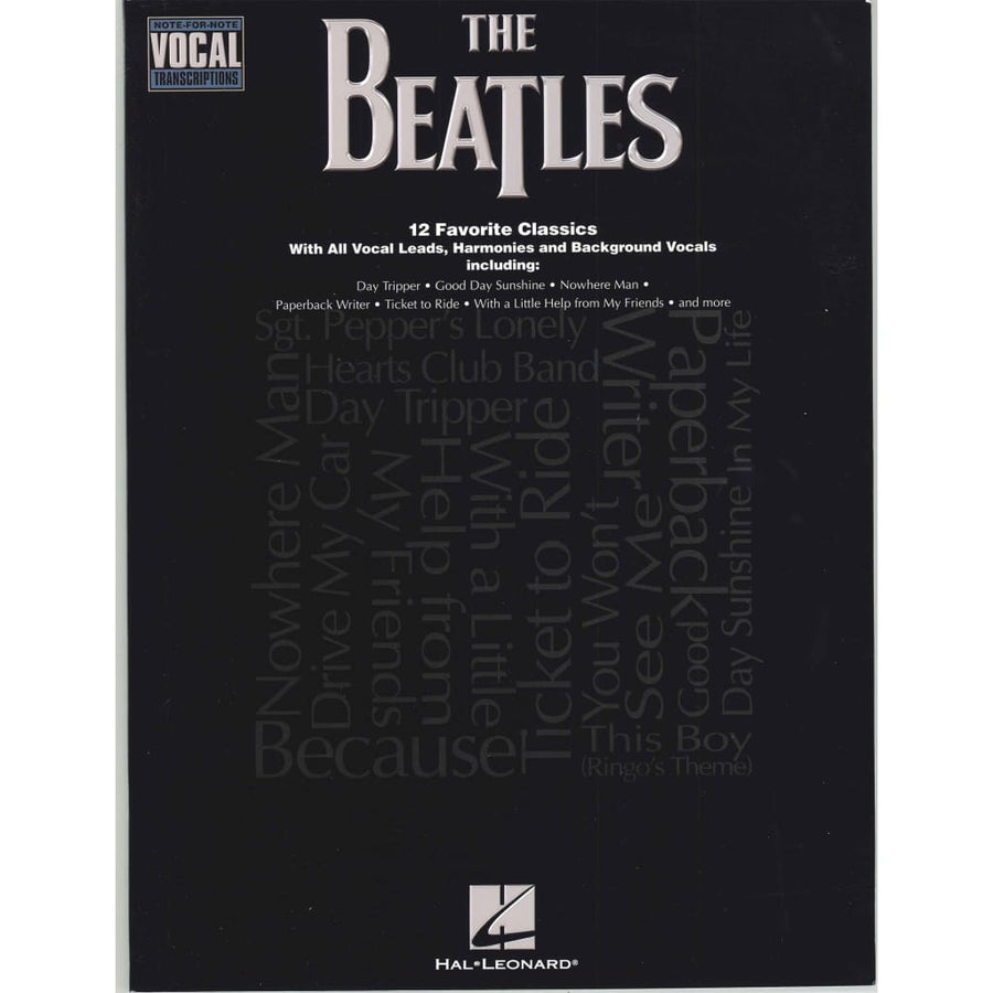 12 The Beatles 12 Favorite Classics With All Vocal Leads Harmonies and Background Vocals
