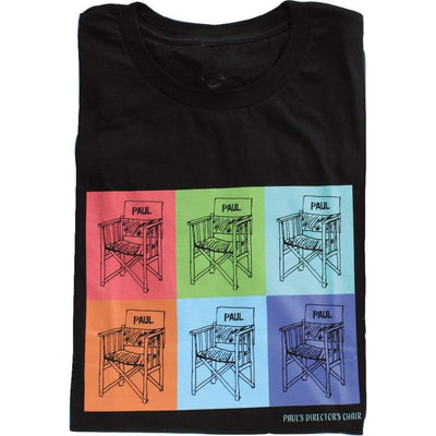 T Pauls Directors Chair - Colorful Design ! Paul McCartney - T