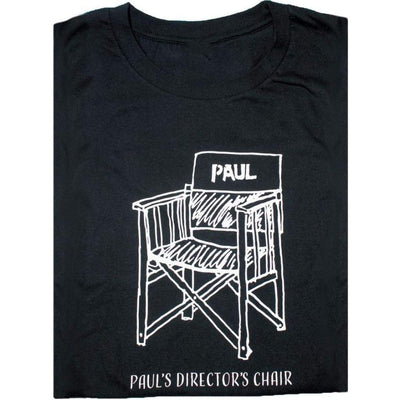 T Pauls Directors Chair - Simple Design ! Paul McCartney - T