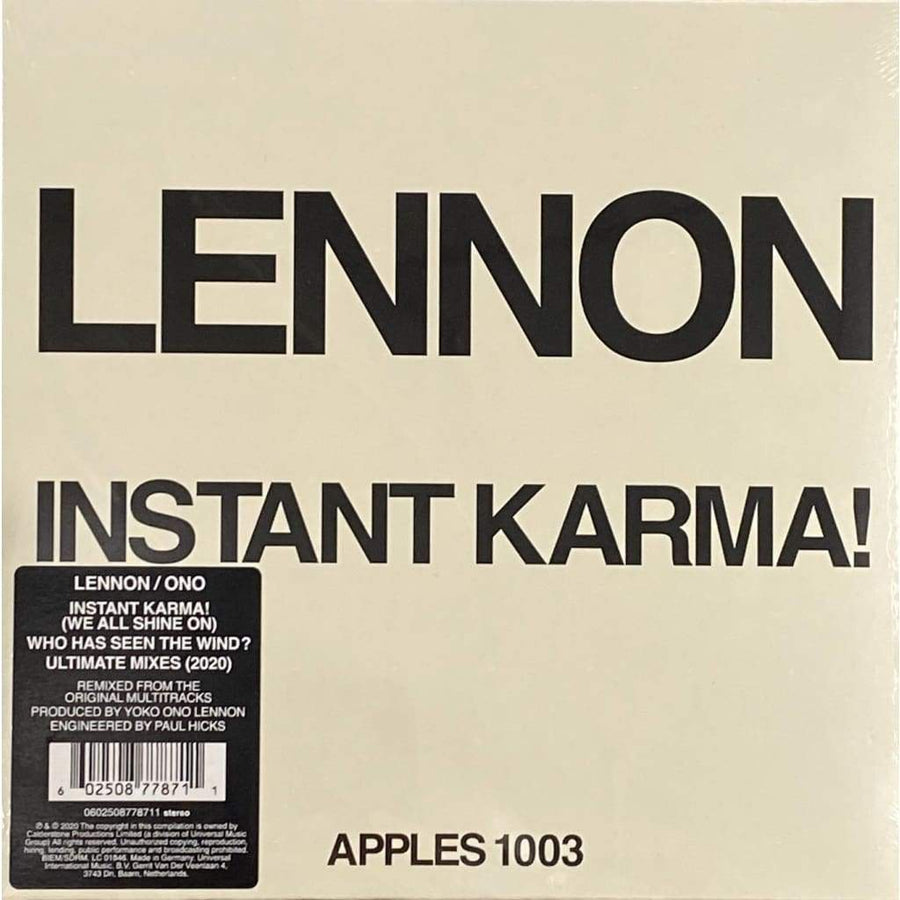 INSTANT KARMA! (2020 ULTIMATE MIXES) アナログ・シングル - レコード