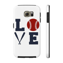 Load image into Gallery viewer, Love-Softball Mom Phone Case