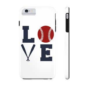 Love-Softball Mom Phone Case