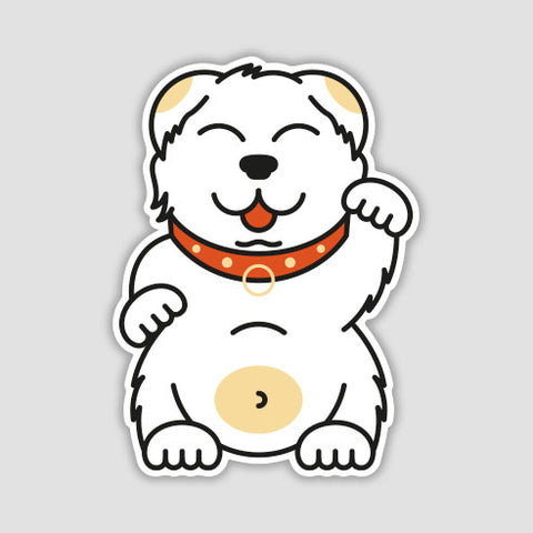 Waving Friend Sticker
