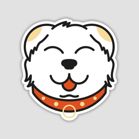 My Lucky Friend Face Sticker