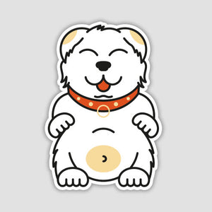 Belly Friend Sticker