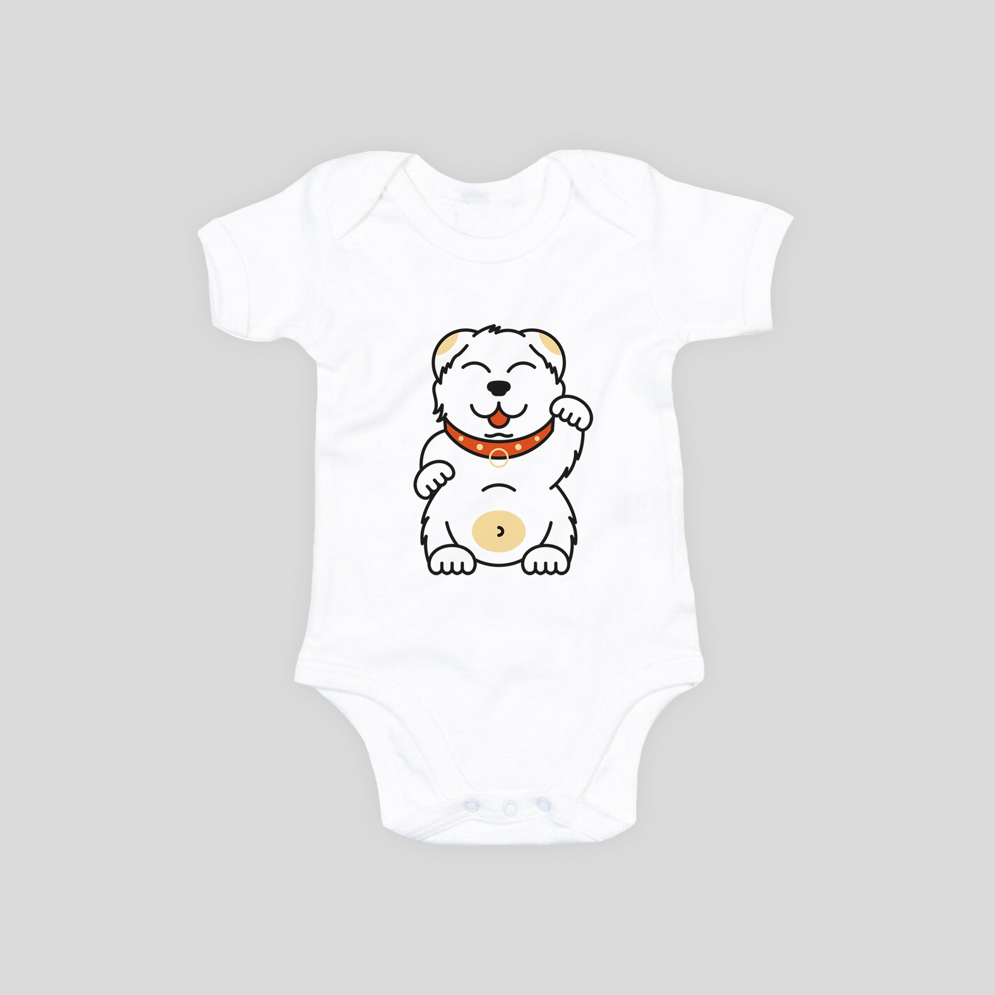 Baby Bodysuit - Waving Friend