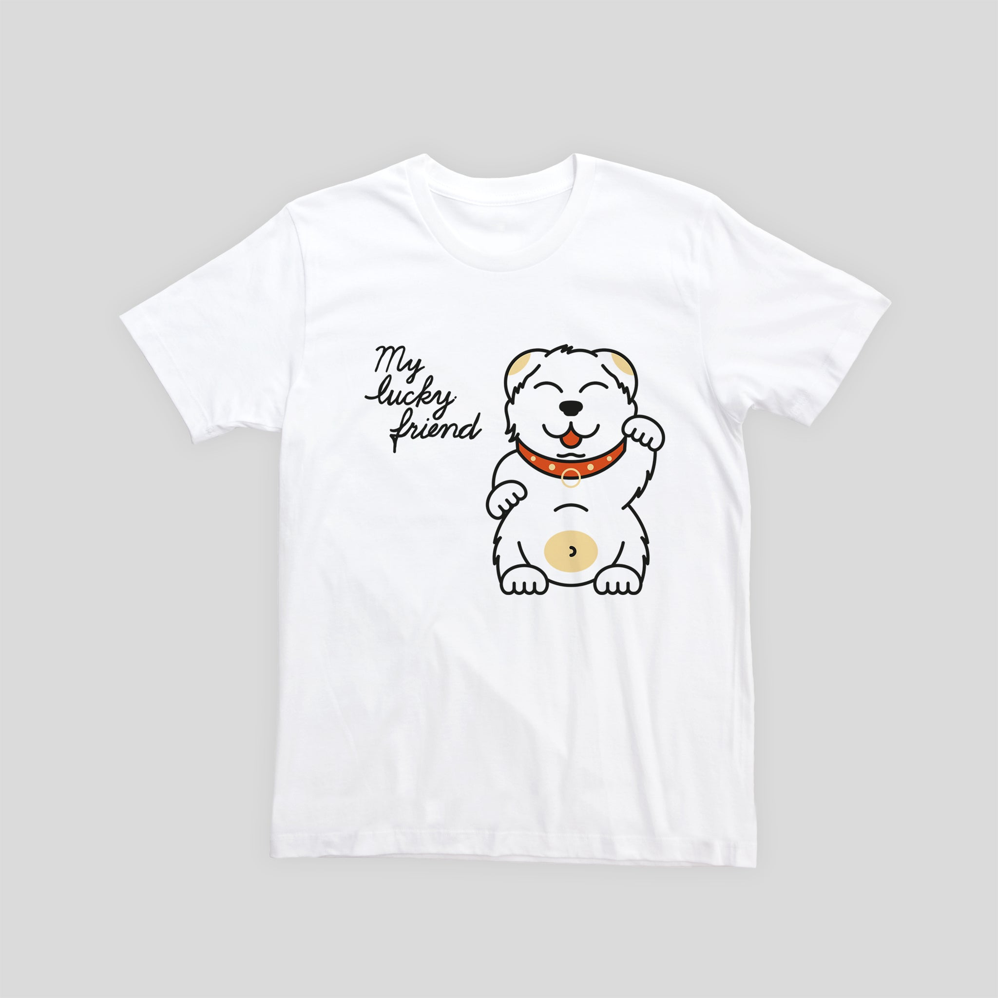 My Lucky Friend - Kids T-shirt