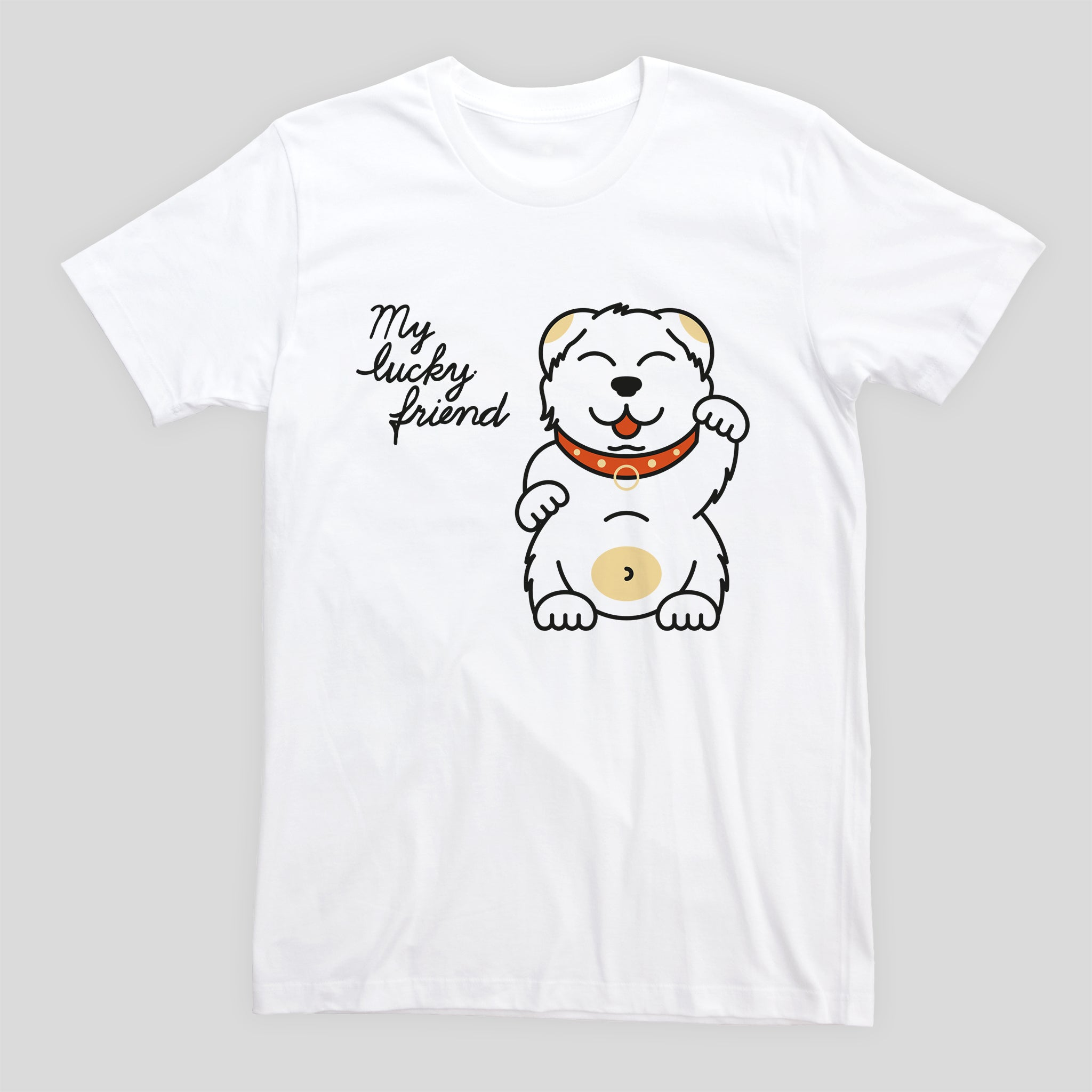 My Lucky Friend - Mens T-shirt