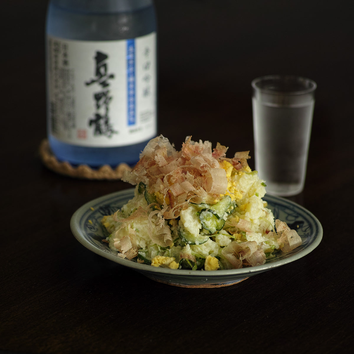 Japanese potato salad with Ginjo sake