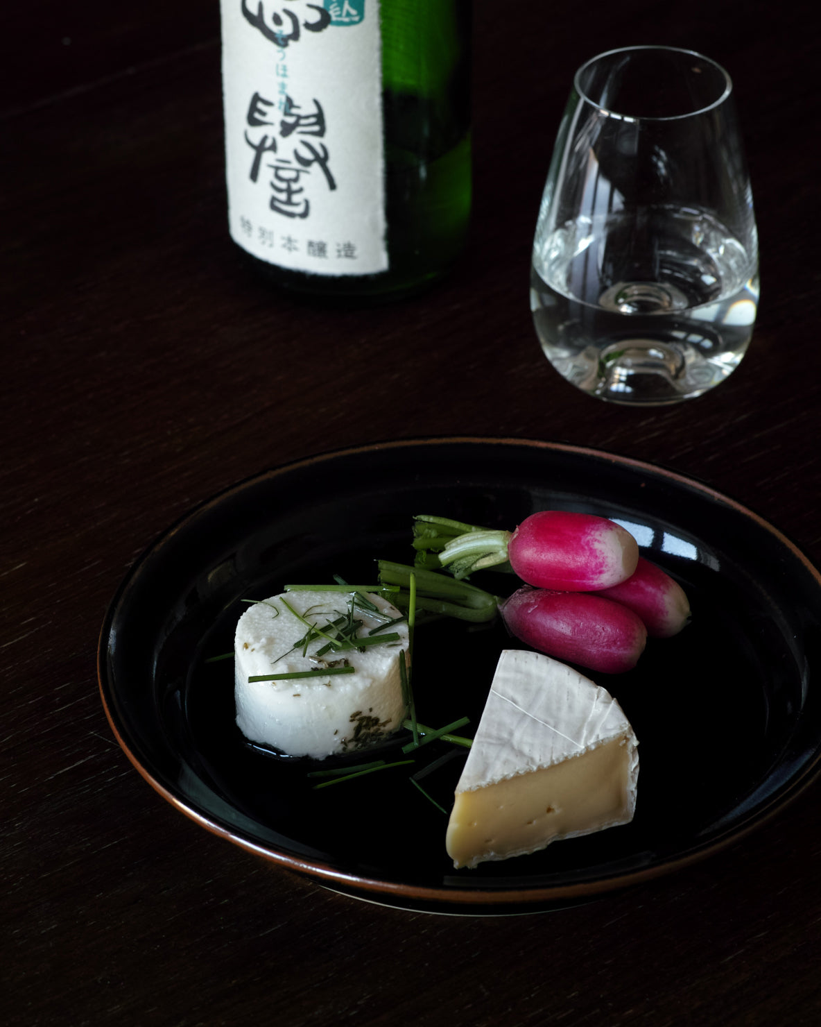 food pairing of cheese and sake, kita sake