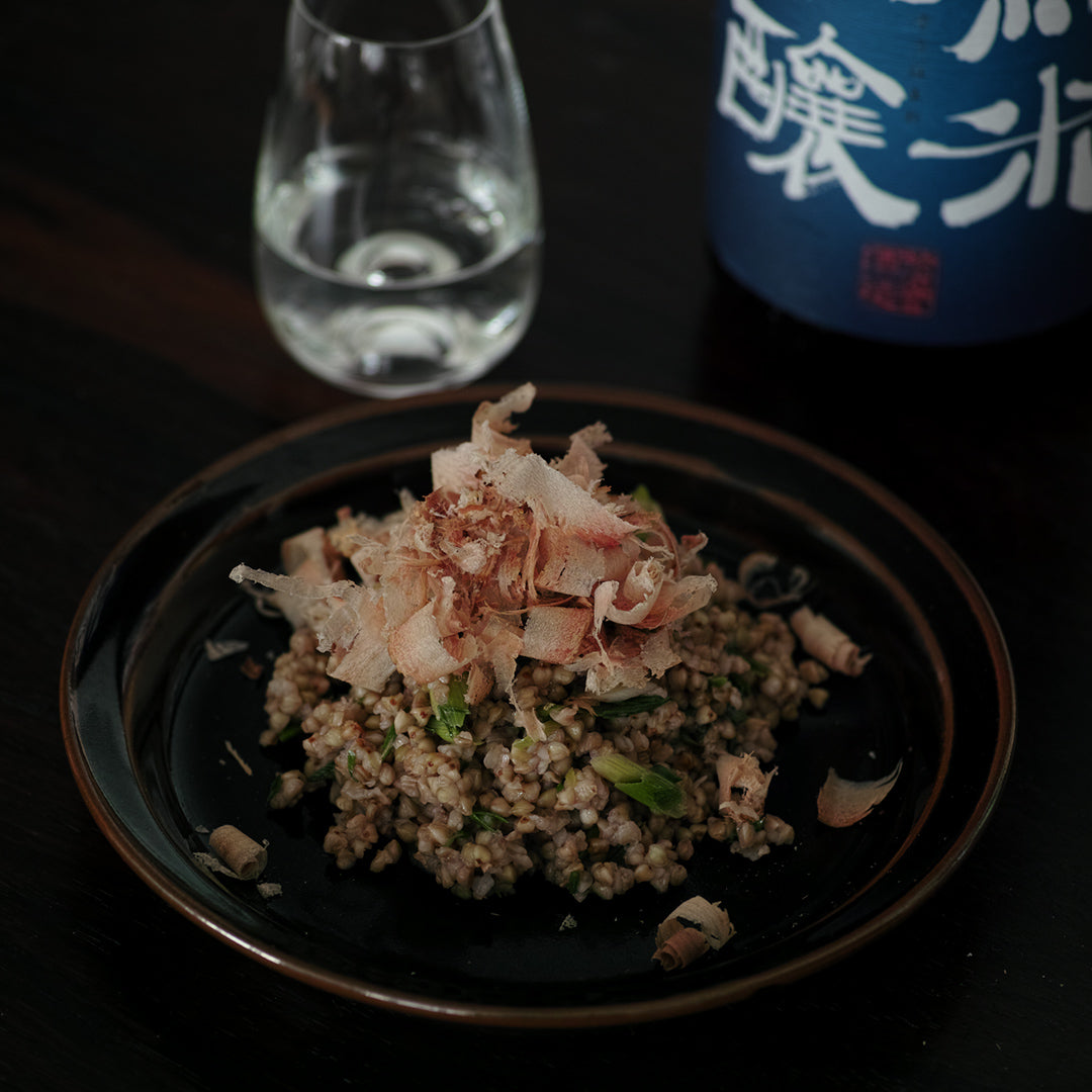 buckwheat otto with junmai ginjo